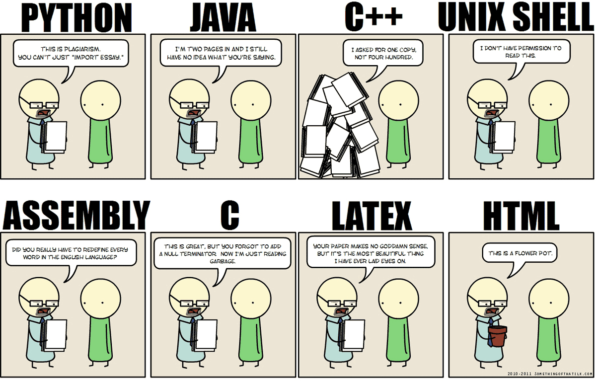 Thesis for computer programming